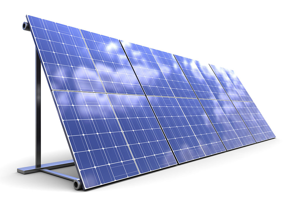 solar energy panel harnessing power of the sun