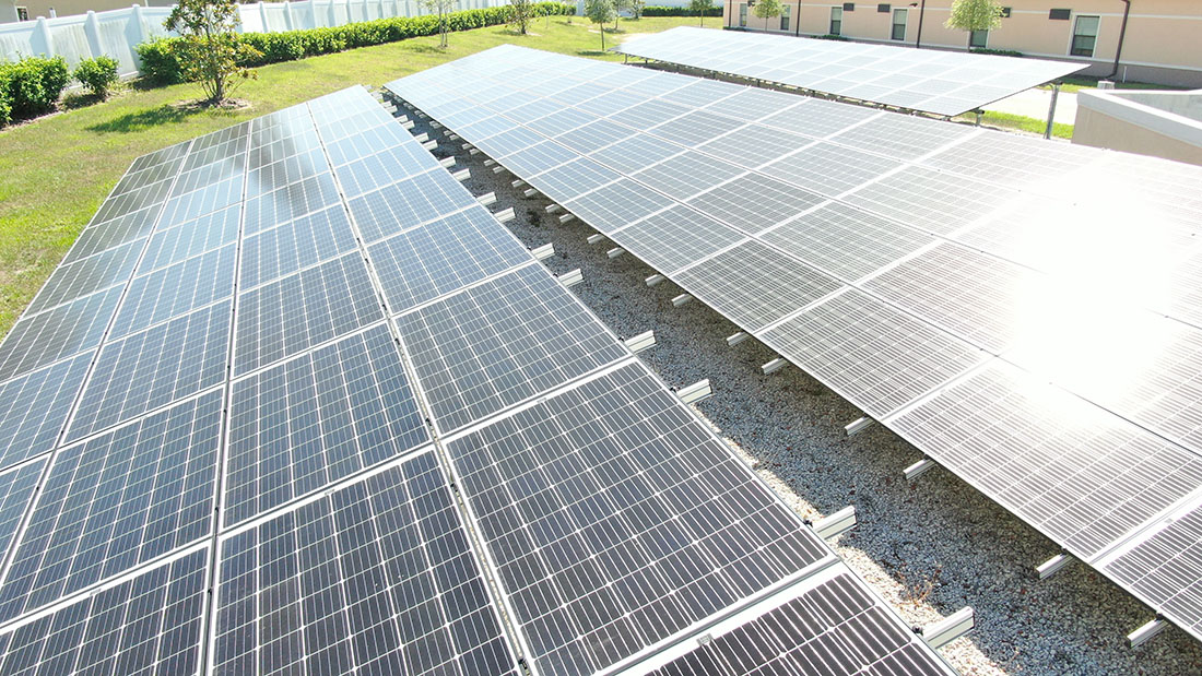 All American Commerical Solar panels